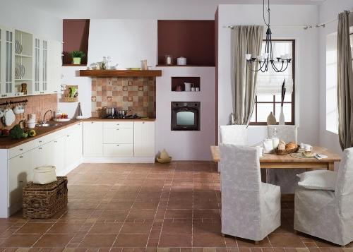 керамогранитная плитка на кухне